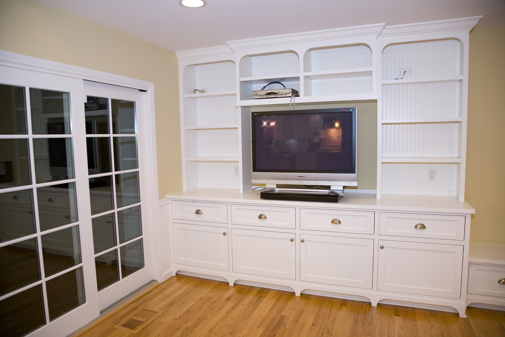 remodeled entertainment center